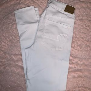 American Eagle Jeggings - white - size 8